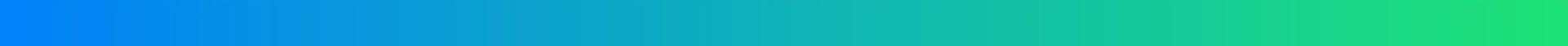 Blue green gradient divider bar horizontal