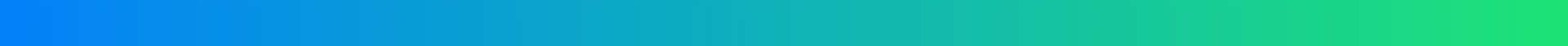 Blue green gradient divider bar horizontal