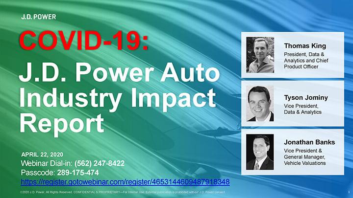 COVID-19 J.D. Power Auto Industry Impact Report_April22