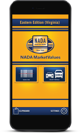 NADA MarketValues Features
