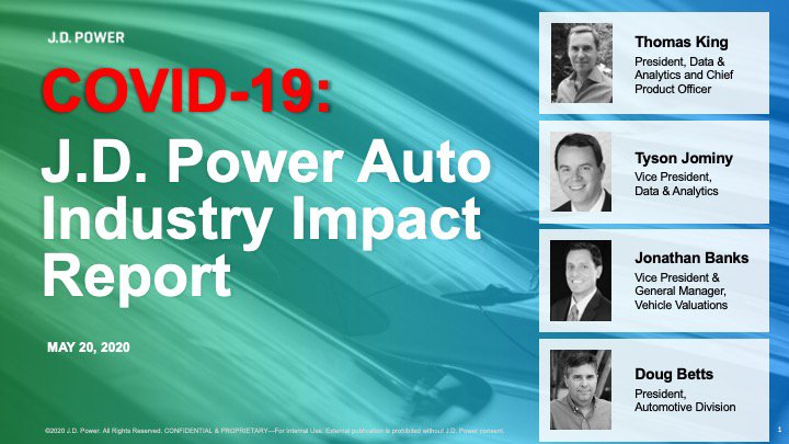 COVID-19 J.D. Power Auto Industry Impact Report_May20